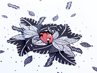 Flamingo enamel pin serie