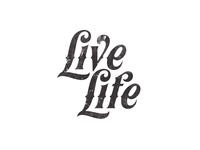 Live Life-Typography