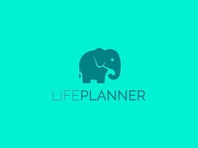 LIFEPLANNER mint green design branding logo