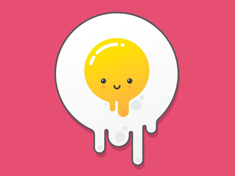 Egg splat