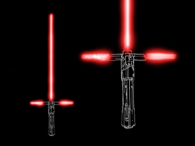 Kylo Saber darthvader adam driver saber sword episode the last jedi jedi star wars lightsaber kylo ren