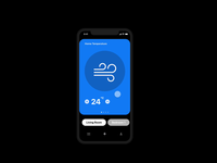 Day 21 Home Monitoring Dashboard illustration animation day 21 app home monitoring dashboard ux ui dailyui