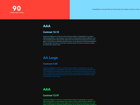a11y for colors.css