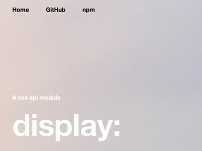 compositor.io - display: