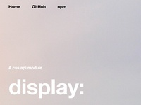 compositor.io - display:
