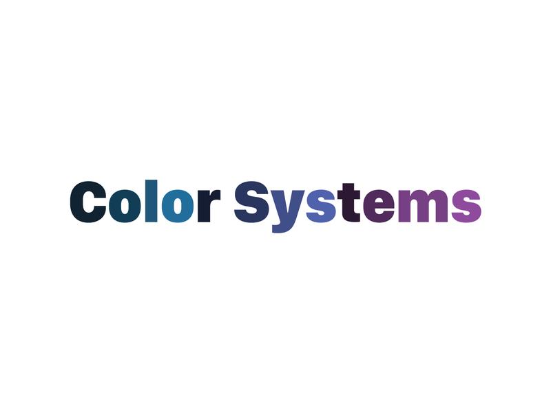 Thinking About Color ui color system palette color