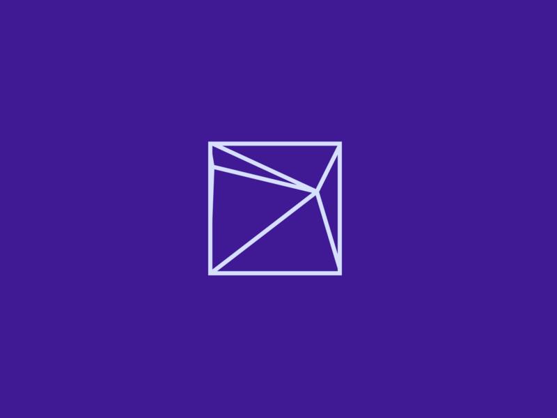 Generative Logo component brand logomark form generated geometry logo generative