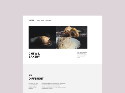 Bakery template templatedesign template ux ui website web figma design figma vector design