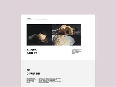 Bakery template templatedesign template ux ui website web figma design figma vector design