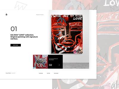 Challenge/ day 2/ gallery website vector logo ux ui figma design figma website web graphic design