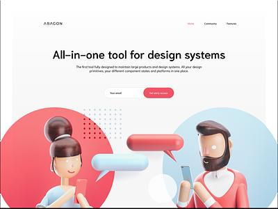 Challenge/ day 6/ website ux ui uiux icons figma design figma website web illustrator graphic illustration vector design