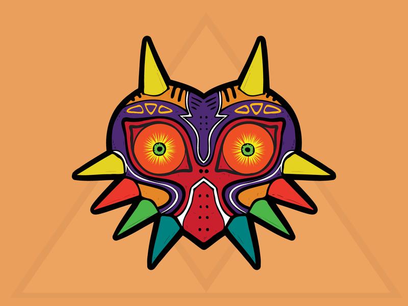 Mojo Mask charm stickermule mask zelda