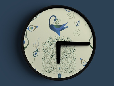 Illustration design for watch design.