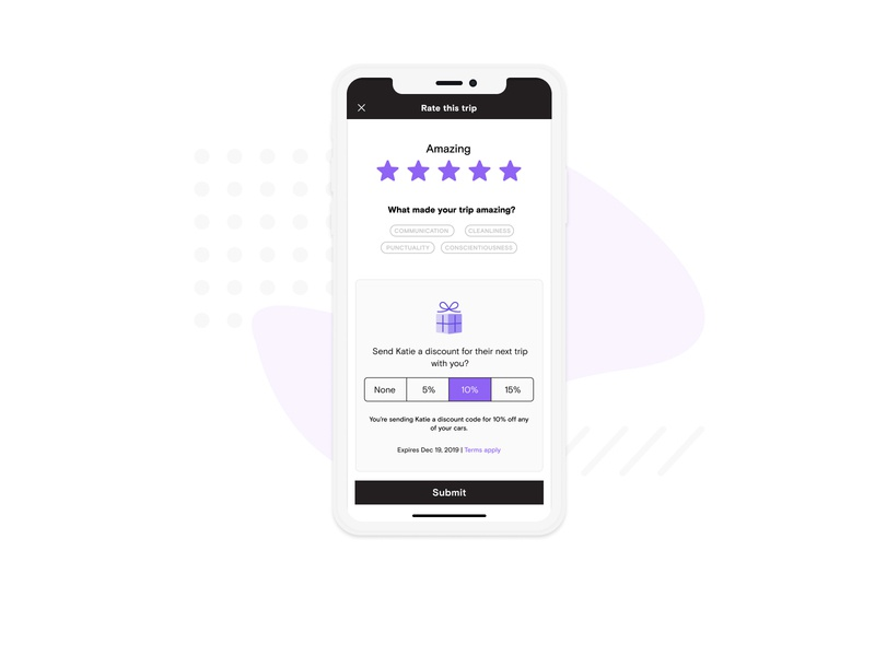 Host Promotions ui ios booking checkout review promotions travel mobile