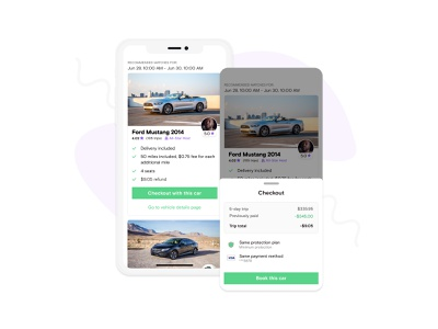 Cancellation Re-booking ux booking mobile app app e-comerce car ui ios mobile