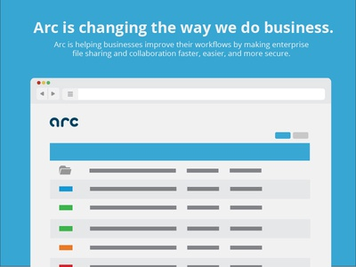 Arc is changing the way we do business.