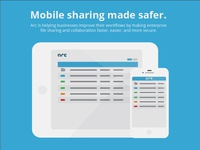 Mobile sharing made safer.