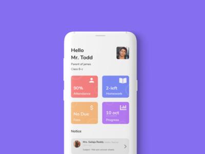 student progress app app typography ux user interface user experience design