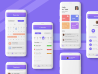 Student progress app user experience app user interface design