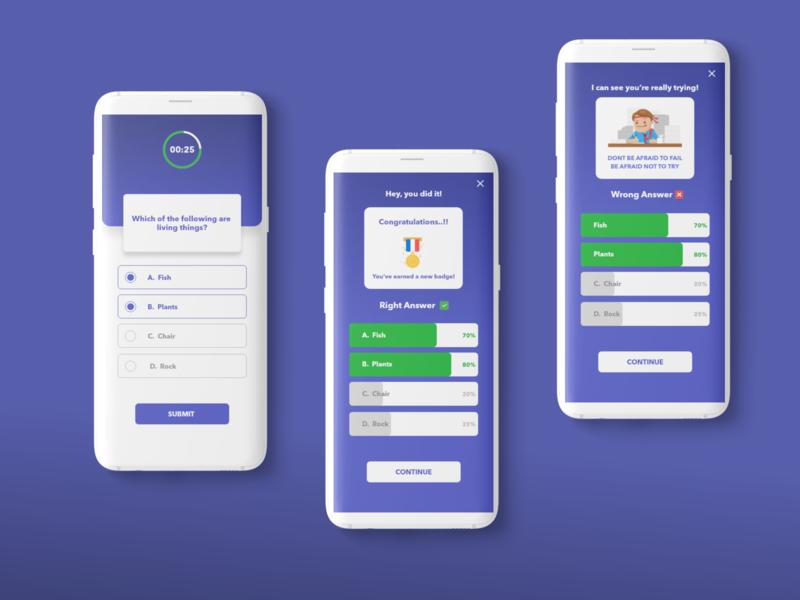 Kids Learning App concept mobileinspiration mobile interaction mobile ui app design mobile application mobile app design user experience user interface mobile app