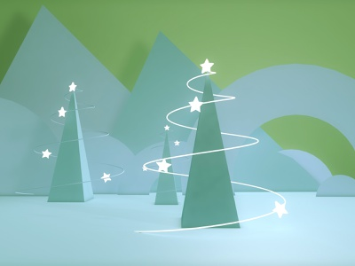 Christmas tree christmas tree design visual graphic color