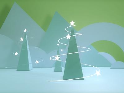 Christmas tree christmas tree design visual graphic color