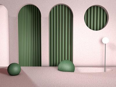 PINK design inspiration visual shape graphic color