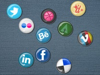 Pin button icons