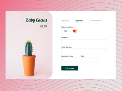 Daily Ui Challenge: Day 2