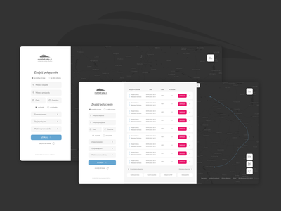 PKP Intercity travel search design webdesign website web ux ui