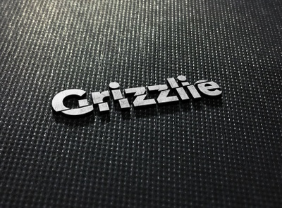 Grizzlie illustration typography vector branding logo design logo