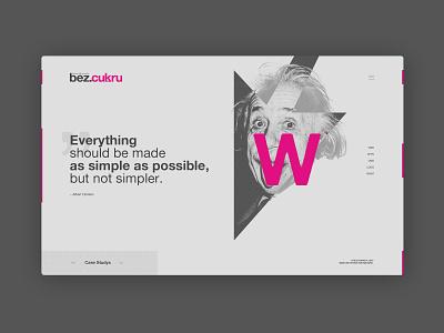 bez.cukru.pl website design ui ux web webdesign