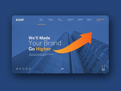 CLIQ ui ux website webdesign web