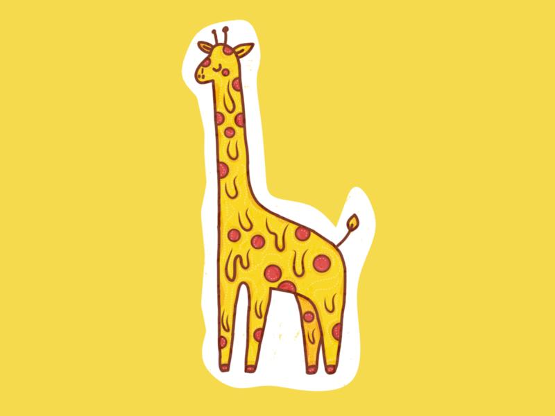 giraffe logo illustration graphic sticker giraffe tshirt pizza tshirt tshirt pizza king pizza time pizza giraffe pizza hut pizza love giraffe animal pizza sticker pizza giraffes giraffe sticker giraffe