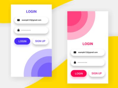 Login UI Design In Pixellab