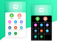 File Sharing App UI Design (Design In Pixellab)