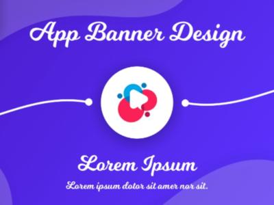 App Banner Design Concept
