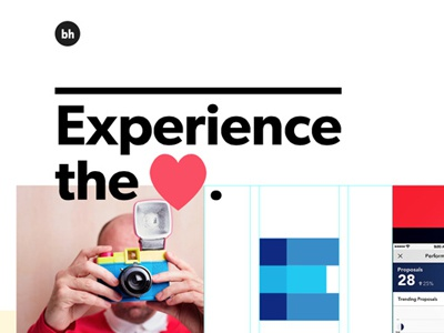 Experience the love brian hoff design animation responsive yay