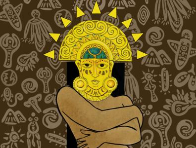 ´´Inti Huamán o Eva Again´´ Book Cover
