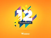 We've reached 12 Million Projects