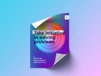 Take Initiative