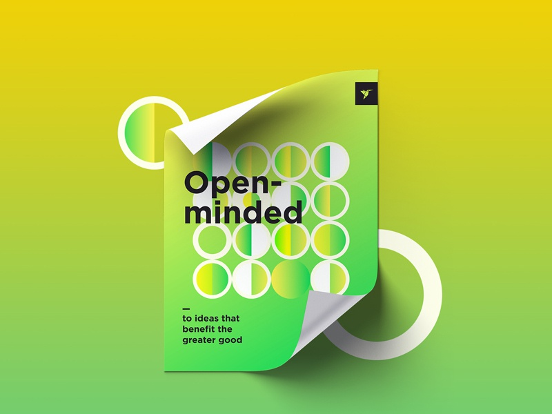 Dribbble openminded