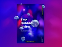 Got 2 Dribbble invites!