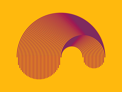 Reverse Vice Versa line minimal identity mark logomark branding brand logo