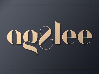 AG&Lee branding wordmark identity mark logo