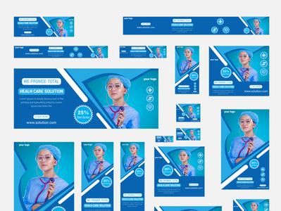 Medical web banner design