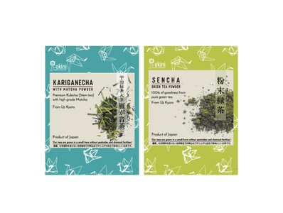 J-Okini Tea Labels