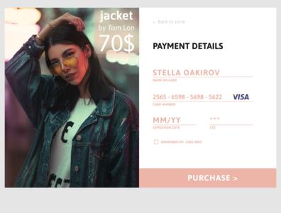 DailyUi2 - Creditcard checkout
