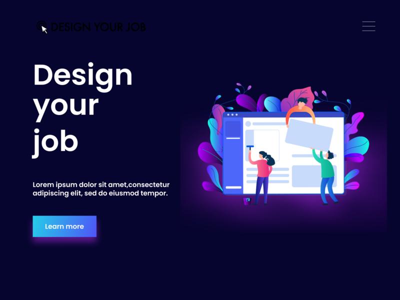Redesign illustration dailyui uiux ui web uiinspiration webdesign