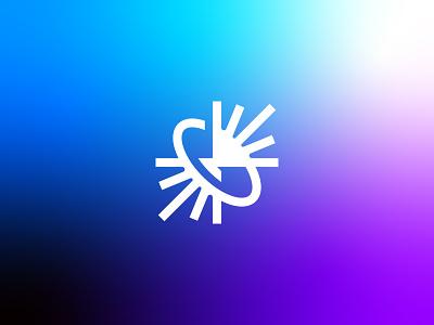 Speed + Astronomy + Light [Unused Concept] sun stars space earth arrow arrows atom speed light branding brand identity logo